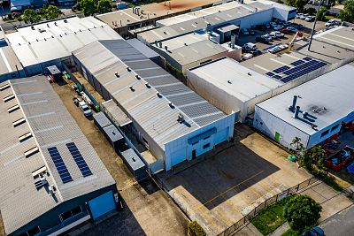 Exclusive listing campaign 1200 sqm office warehouse case study