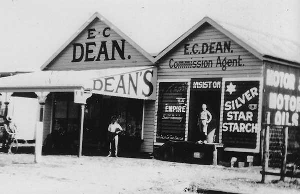 Edwin Dean 1st Real Estate Office from the 1020's